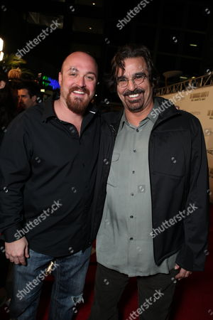HOLLYWOOD, CA - OCTOBER 28: Writer/Director Troy Duffy and David Della Rocco at the Los Angeles Premiere of 'The Boomdock Saints II: All Saints Day' on October 28, 2009 at the Arclight Theatre in Hollywood, California.