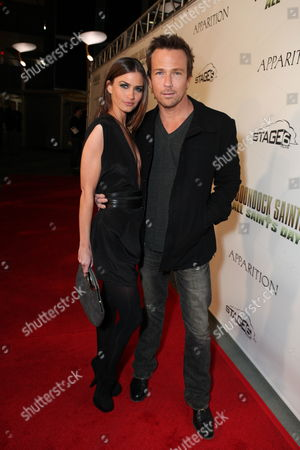 HOLLYWOOD, CA - OCTOBER 28: Lauren Michelle Hill and Sean Patrick Flanery at the Los Angeles Premiere of 'The Boomdock Saints II: All Saints Day' on October 28, 2009 at the Arclight Theatre in Hollywood, California.