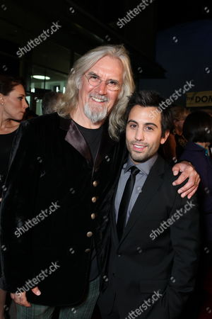 HOLLYWOOD, CA - OCTOBER 28: Billy Connolly and Daniel DeSanto at the Los Angeles Premiere of 'The Boomdock Saints II: All Saints Day' on October 28, 2009 at the Arclight Theatre in Hollywood, California.