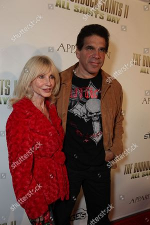 HOLLYWOOD, CA - OCTOBER 28: Carla Ferrigno and Lou Ferrigno at the Los Angeles Premiere of 'The Boomdock Saints II: All Saints Day' on October 28, 2009 at the Arclight Theatre in Hollywood, California.
