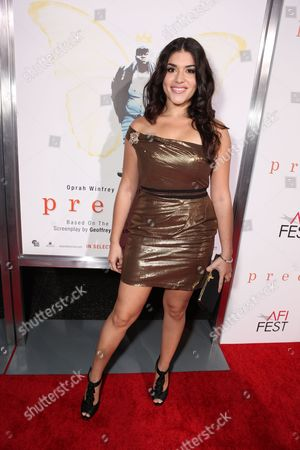 HOLLYWOOD, CA - NOVEMBER 01: Stephanie Andujar at Lionsgate Los Angeles Premiere of 'Precious' at the AFI Fest on November 01, 2009 in Hollywood, California.