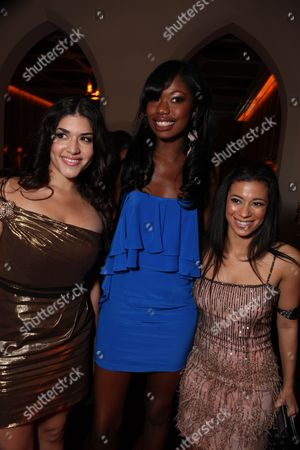 HOLLYWOOD, CA - NOVEMBER 01: Stephanie Andujar, Xosha Roquemore and Angelic Zambrana at Lionsgate Los Angeles Premiere of 'Precious' at the AFI Fest on November 01, 2009 in Hollywood, California.