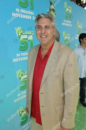 Stock Photo of WESTWOOD, CA - NOVEMBER 14: Exec. Producer Albie Hecht at the Premiere of Columbia Pictures 'Planet 51' on November 14, 2009 at the Mann Village Theatre in Westwood, California.