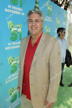 Stock Image of WESTWOOD, CA - NOVEMBER 14: Exec. Producer Albie Hecht at the Premiere of Columbia Pictures 'Planet 51' on November 14, 2009 at the Mann Village Theatre in Westwood, California.