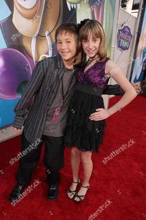 BURBANK, CA - NOVEMBER 15: Ryan Robello and Allisyn Arm at the World Premiere of Disney's 'The Princess and The Frog' hosted by Walt Disney Studios on November 15, 2009 at Walt Disney Studios in Burbank, California.