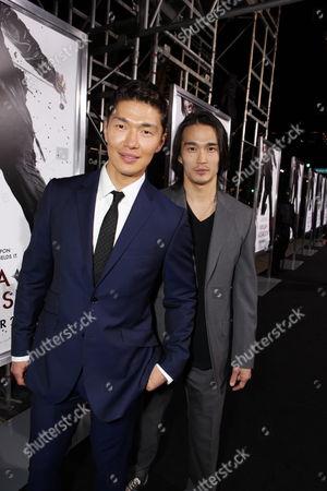 HOLLYWOOD, CA - NOVEMBER 19: Rick Yune and Karl Yune at Warner Bros. Pictures Premiere of 'Ninja Assassin' on November 19, 2009 at Grauman's Chinese Theatre in Hollywood, California.