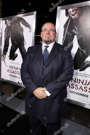 HOLLYWOOD, CA - NOVEMBER 19: Stephen Marcus at Warner Bros. Pictures Premiere of 'Ninja Assassin' on November 19, 2009 at Grauman's Chinese Theatre in Hollywood, California.
