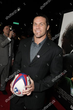 BEVERLY HILLS, CA - DECEMBER 03: Rugby Player Todd Clever at Warner Bros. Pictures Los Angeles Premiere of 'Invictus' on December 03, 2009 at the Academy of Motion Picture Arts & Sciences in Beverly Hills, California.
