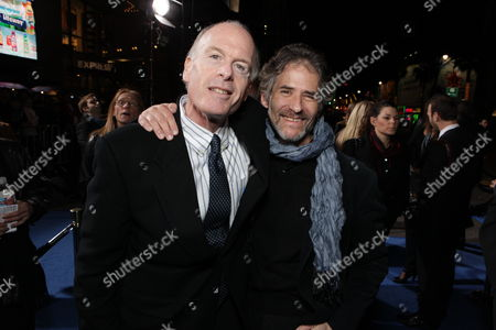 HOLLYWOOD, CA - DECEMBER 16: Fox' Robert Kraft and Composer James Horner at 20th Century Fox Los Angeles Premiere of 'Avatar' on December 16, 2009 at Mann's Chinese Theatre in Hollywood, California.