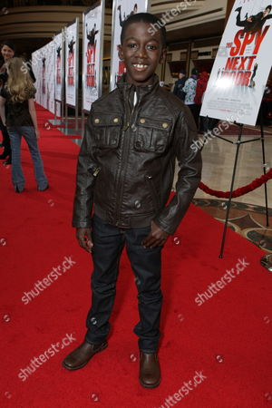 LOS ANGELES, CA - JANUARY 09: Kwesi Boakye at the World Premiere of Lionsgate 'The Spy Next Door' on January 09, 2010 at The Gorve in Los Angeles, California.