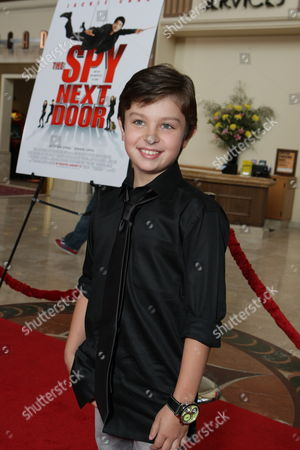 LOS ANGELES, CA - JANUARY 09: Will Shadley at the World Premiere of Lionsgate 'The Spy Next Door' on January 09, 2010 at The Gorve in Los Angeles, California.
