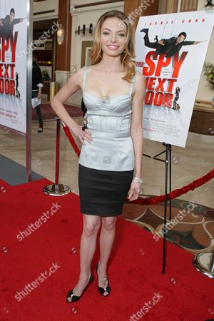 LOS ANGELES, CA - JANUARY 09: Katherine Boecher at the World Premiere of Lionsgate 'The Spy Next Door' on January 09, 2010 at The Gorve in Los Angeles, California.