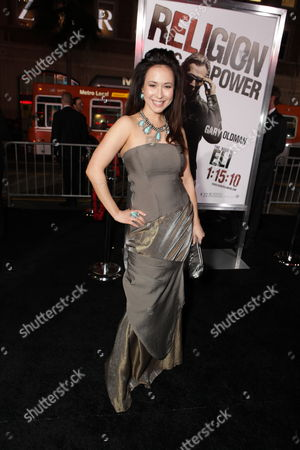 Stock Photo of HOLLYWOOD, CA - JANUARY 11: Lora Cunningham at Warner Bros. Pictures Premiere of Alcon Entertainment's 'The Book of Eli' at Grauman's Chinese Theatre on January 11, 2010 in Hollywood, California.
