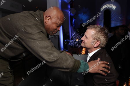 HOLLYWOOD, CA - JANUARY 21: Charles S. Dutton and Screen Gems Clint Culpepper at the World Premiere of Screen Gems 'Legion' at Cinerama Dome on January 21, 2010 in Hollywood, California.