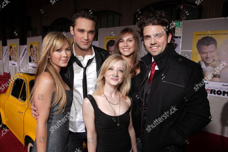 Stock Picture of HOLLYWOOD, CA - JANUARY 27: Cherilyn Wilson, Josh Nuncio, Alli Kinzel, Erin Way and Adam Chambers at the World Premiere of Touchstone Pictures 'When In Rome' on January 27, 2010 at the El Capitan Theatre in Hollywood, California.