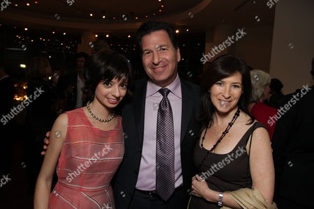 HOLLYWOOD, CA - JANUARY 27:**EXCLUSIVE** Kate Micucci, Producer Gary Foster and Lisa Foster at the World Premiere of Touchstone Pictures 'When In Rome' on January 27, 2010 at the El Capitan Theatre in Hollywood, California.