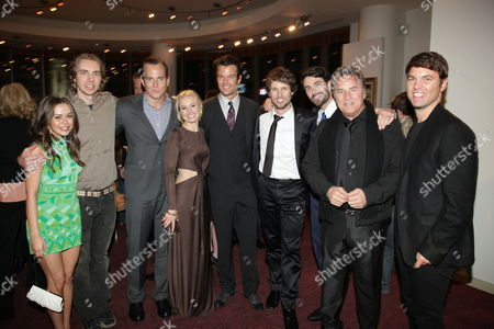HOLLYWOOD, CA - JANUARY 27:**EXCLUSIVE** Alexis Dziena, Dax Shepard, Will Arnett, Kristen Bell, Josh Duhamel, Jon Heder, Luca Calvani, Don Johnson and Director Mark Steven Johnson at the World Premiere of Touchstone Pictures 'When In Rome' on January 27, 2010 at the El Capitan Theatre in Hollywood, California.