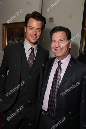 HOLLYWOOD, CA - JANUARY 27:**EXCLUSIVE** Josh Duhamel and Producer Gary Foster at the World Premiere of Touchstone Pictures 'When In Rome' on January 27, 2010 at the El Capitan Theatre in Hollywood, California.