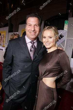 HOLLYWOOD, CA - JANUARY 27: Producer Gary Foster and Kristen Bell at the World Premiere of Touchstone Pictures 'When In Rome' on January 27, 2010 at the El Capitan Theatre in Hollywood, California.