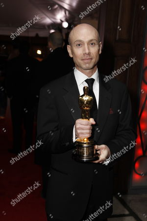 HOLLYWOOD, CA - MARCH 07: **EXCLUSIVE** Stephen Rosenbaum at 20th Century Fox - Fox Searchlight Pictures Oscar Party on March 07, 2010 at Boulevard 3 in Hollywood, California.