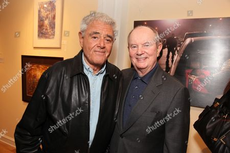 LOS ANGELES, CA - MARCH 24: **EXCLUSIVE** Richard Donner and Jerry Perenchio at a recent reception at the LA Art House on March 24, 2010 hosted by Jerry Moss welcoming Stan Brock and RAM back to Los Angeles for the second clinic April 27 May 3, 2010.