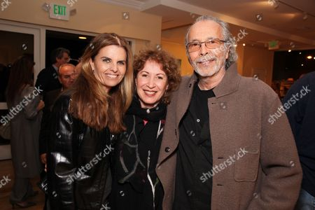 LOS ANGELES, CA - MARCH 24: **EXCLUSIVE** Maria Shriver, Lani Alpert and Herb Alpert at a recent reception at the LA Art House on March 24, 2010 hosted by Jerry Moss welcoming Stan Brock and RAM back to Los Angeles for the second clinic April 27 May 3, 2010.