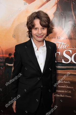 HOLLYWOOD, CA - MARCH 25: Bobby Coleman at the World Premiere of Touchstone Pictures 'The Last Song' on March 25, 2010 at ArcLight Hollywood Cinema in Hollywood, CA.