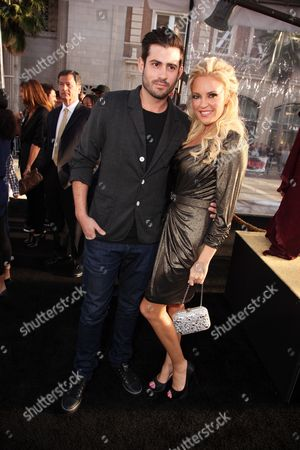 HOLLYWOOD, CA - MARCH 31: Nicholas Carpenter and Bridget Marquardt at Warner Bros. Los Angeles Premiere of 'Clash of the Titans' on March 31, 2010 at the Grauman's Chinese Theatre in Hollywppd, CA.