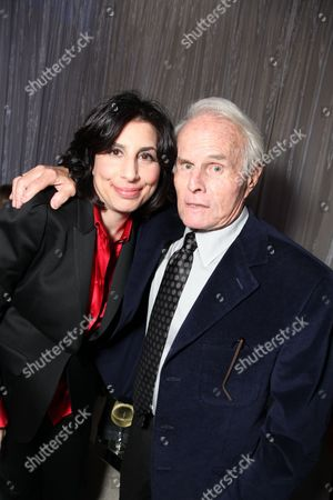 HOLLYWOOD, CA - MARCH 31: **EXCLUSIVE** Warner's Sue Kroll and Exec. Producer Richard Zanuck at Warner Bros. Los Angeles Premiere of 'Clash of the Titans' on March 31, 2010 at the Grauman's Chinese Theatre in Hollywppd, CA.