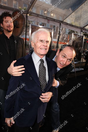 HOLLYWOOD, CA - MARCH 31: Exec. Producer Richard Zanuck and Director Louis Leterrier at Warner Bros. Los Angeles Premiere of 'Clash of the Titans' on March 31, 2010 at the Grauman's Chinese Theatre in Hollywppd, CA.