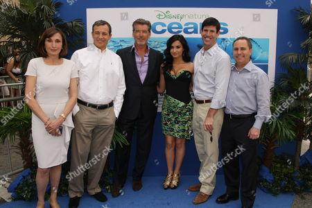 Editorial image of Disneynature's premiere of 'Oceans' Hollywood Los Angeles, America.