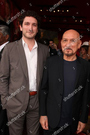 HOLLYWOOD, CA - MAY 27: Edmund Kingsley and Sir Ben Kingsley at the Award Winning Actor Sir Ben Kingsley star ceremony on the Hollywood Walk of Fame on May 27, 2010 in Hollywood, California. He presently stars in 'Prince of Persia: The Sands of Time', which opens in theaters May 28, 2010.