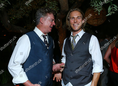 WEST HOLLYWOOD, CA - SEPTEMBER 22: Christopher McDonald and Jilon VanOver at HISTORY Pre-EMMY Party held Soho House on September 22, 2012 in West Hollywood, California.