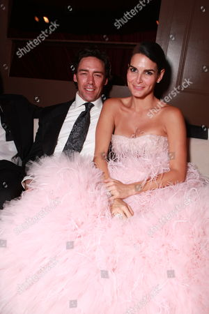 LOS ANGELES, CA - JANUARY 30: Jason Sehorn and Angie Harmon at 17th Annual Screen Actors Guild Awards People Magazine Party on January 30, 2011 at the Shrine Auditorium in Los Angeles, California.