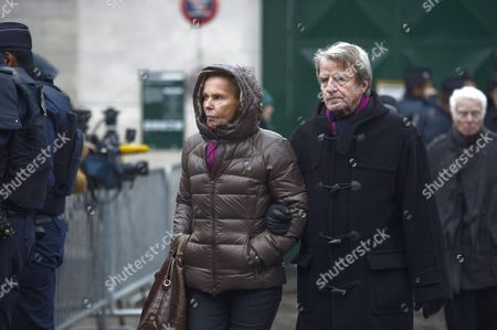 Christine Ockrent and Bernard Kouchner
