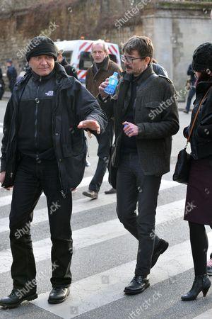 Charlie Hebdo cartoonist Renald Luzier aka Luz
