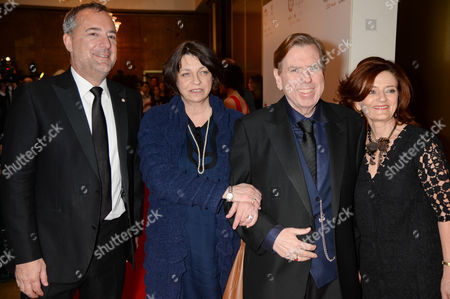 Stock Photo of Rich Cline, Hilary Oliver, Shane Spall and Timothy Spall