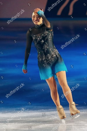 Miki Ando competes in the Women's Free Skating