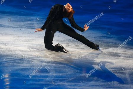 Nobunari Oda competes in the Men's Free Skating