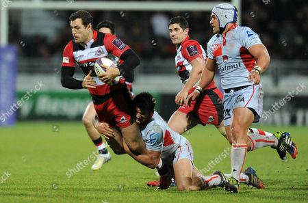 Editorial photo of Lyon v Edinburgh, European Challenge Cup rugby match, Matmut stadium, Lyon, France - 17 Jan 2015
