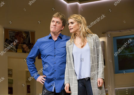 Jon Conway (Ray Jordan) and Kim Tiddy (Suzy Jordan)