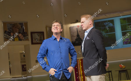 Stock Image of l-r: Jon Conway (Ray Jordan) and Fred Perry (James Hewitt)