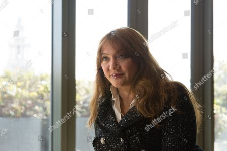 Stock Photo of Ayesha Vardag, top divorce lawyer and President of Vardags photographed at her office at 10 Old Bailey, London.