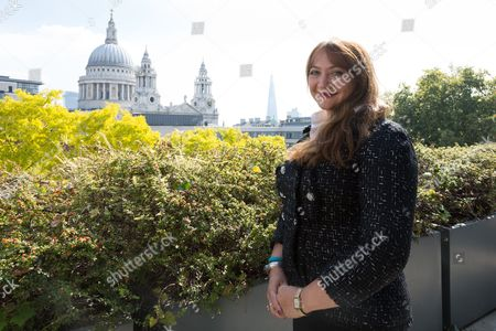 Stock Picture of Ayesha Vardag, top divorce lawyer and President of Vardags photographed at her office at 10 Old Bailey, London.