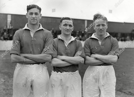Anthony Collins, Sidney Storey and Ronald Benson of York City