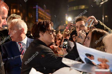 Editorial picture of 'Mortdecai' film premiere, London, Britain - 19 Jan 2015