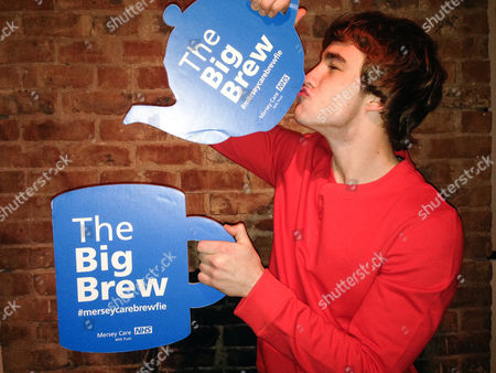Editorial picture of 'Blue Monday' Big Brew mental health awareness, Liverpool, Britain - 19 Jan 2015