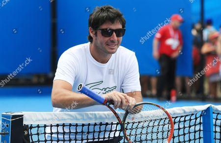 Editorial image of Australian Open Tennis 2015 Day Two Melbourne Park, Melbourne, Australia - 20 Jan 2015