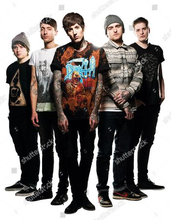 Editorial photo of Asking Alexandria Portrait Shoot