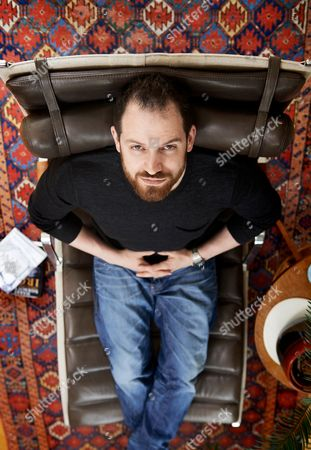 Bath United Kingdom - June 3: Portrait Of English Fantasy Author Joe Abercrombie Photographed In Bath England On June 3 2014. Abercrombie Is Best Known For His The First Law Series Of Novels